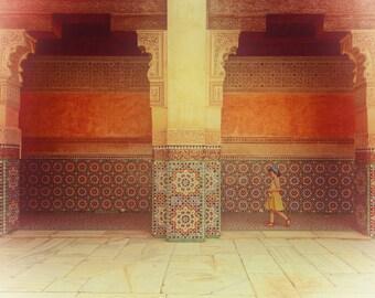 """Morocco Photography, Morocco Art, tiles, large photography, Morocco print - """"Moroccan Dream"""""""