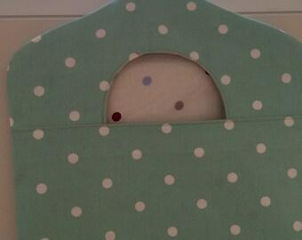 Peg Bag - Clarke & Clarke Polka Dot Fabric