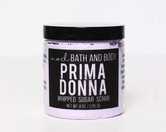 Whipped Sugar Scrub Prima Donna | Sugar Scrub | Whipped Soap | Bath and Beauty | Sugar Scrub
