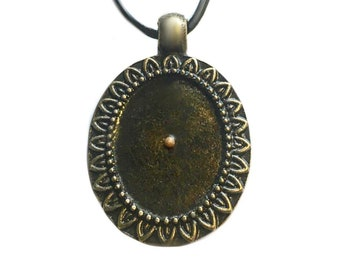 Mustard seed necklace.