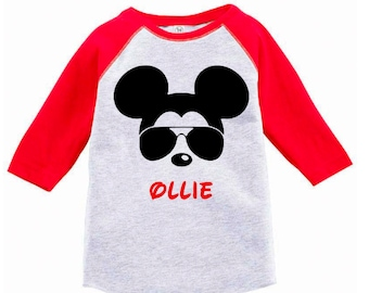 Personalized Birthday T-Shirt - Personalized Disney Inspired Shirt - Mickey Mouse Inspired Birthday Party - Mickey Mouse Inspired T-Shirt