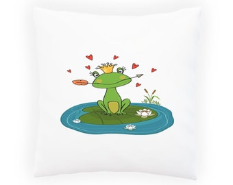 frog princess Pillow Cushion Cover v693p