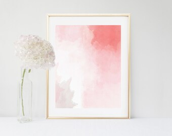 Art Print, Pink Abstract Painting, Abstract Print,  Printable Art, Modern Art, Instant Download, Modern Wall Art,  Wall Decor, Home Decor