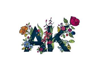 Wall art, art print, alaska art, wall painting, alaskan artwork, colorful AK, gift idea, alaskan art, 11x14 print, last frontier, AK