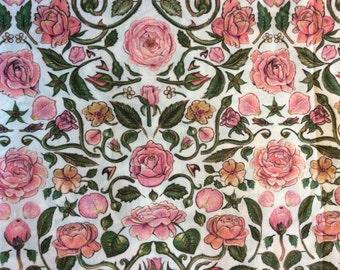 Tana lawn fabric from Liberty of London, Penrose
