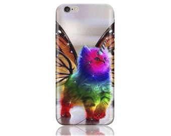 For Samsung J1 #Butterfly Cat Design Hard Phone Case