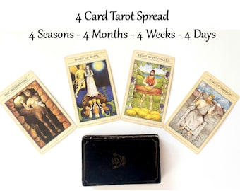 Monthly Planner Tarot Card Reading, Monthly Planner Tarot Reading 2018 Planner Same Day Reading Year at a Glance Psychic ReadingTarot Cards