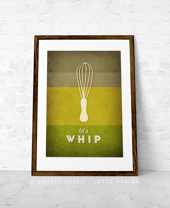 Green Kitchen art Green Kitchen print Green wall art for the