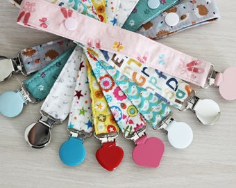 Pacifier clip, Pacifier holder, Dummy clip, Soothie pacifier clip, binky clip, paci clip, baby pacifier clip, baby accessories, baby gift
