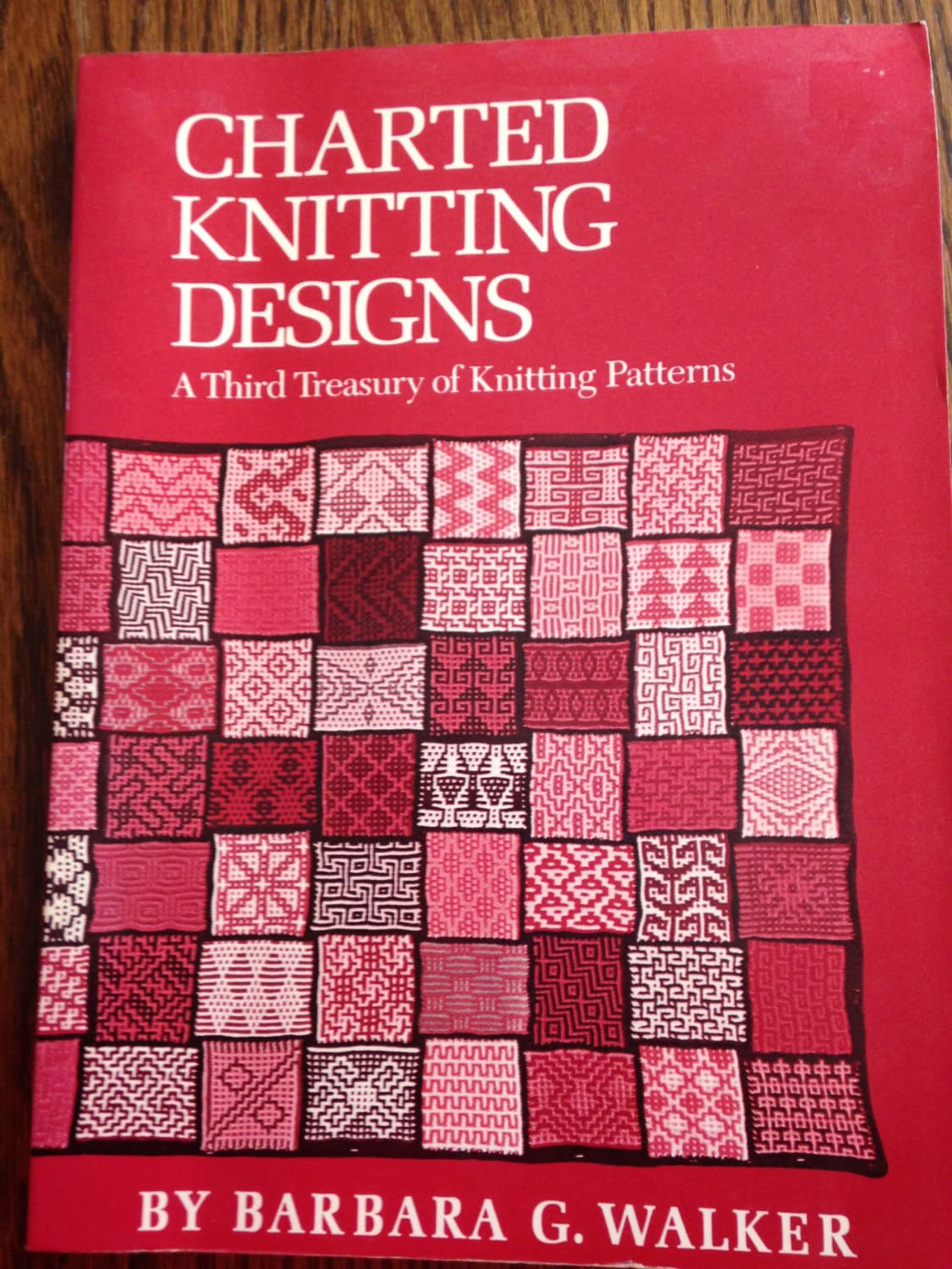 Charted Knitting Designs; A Third Treasury of Knitting Patterns by ...
