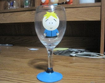 Butters wine glass