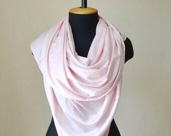 blush wedding shawl bridal scarf silk scarf bridal shawl blush pink scarf bridal wrap bridesmaid shawl bridal cover up evening shawl