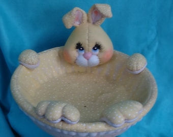 Ceramic Bunny Bowl