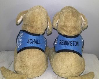 REMINGTON + SCHALL plush toys