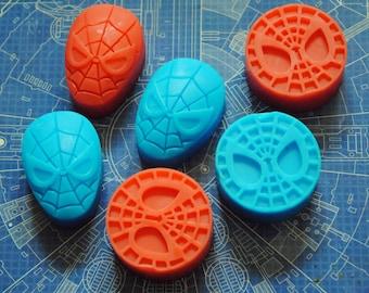 6 x Superhero Soap - Spiderman