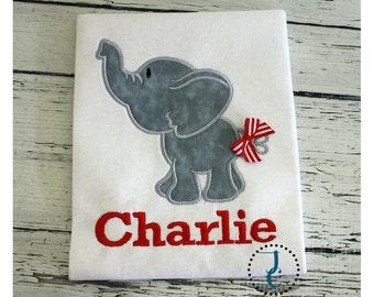 Elephant Shirt - Girl Coming Home Outfit, Elephant Dress, Jungle Birthday, Circus Birthday, Zoo Shirt, Alabama Crimson, Elephant Birthday