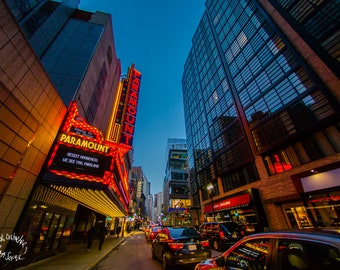 paramount theatre,metal print,fun,office,dorm,wide angle,city,cool,home,lounge,wall,art,abstract,hanging,picture,living room,gift,boston
