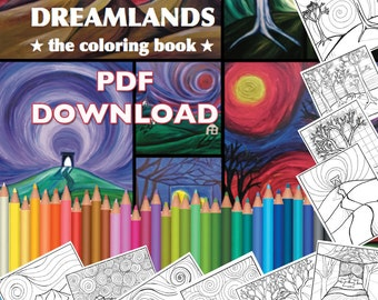 PDF DOWNLOAD Dreamlands Coloring Pages