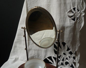 antique 1930 Barber mirror - Antique barber mirror 1930