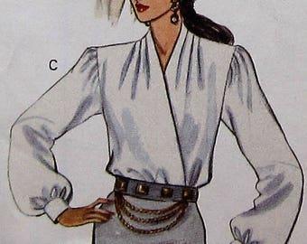 Blouse Sewing Pattern UNCUT Butterick 3028 Sizes 12-16