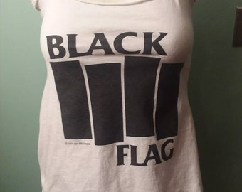 FREE SHIPPING!  Black Flag customized t shirt
