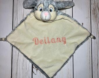 Personalized Bunny Blankie/Lovie
