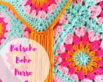 Ratsche Boho Purse #3 (Tutorial in english with pics and explanations)