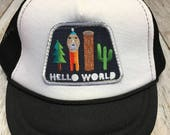 "Unisex Infant Trucker Hat with ""Hello World"" ..."