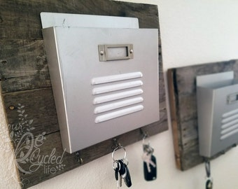 Mail and key Holder, Entry Room Mailbox, Mail Sorter, Key Storage, Key Hook, Wall Mailbox, Office Organizer, Wall Mount Mailbox, Office Mail