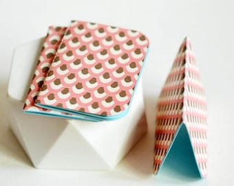 Mini Blank Books {3} Pink   Mini Notebooks   Pink Notebooks   Paper Lover Gift   Gift under 10   Mothers Day Gift