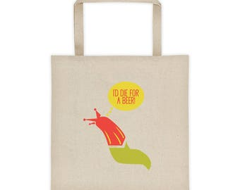 Slugs n' beer Tote bag