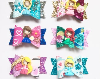 Limited Edition Mini Princess Hairbow