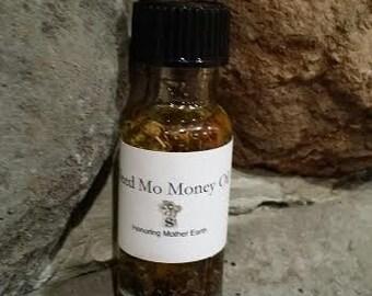 Mo Money Oil , Voodoo, Hoodoo, Conjure,Anointing, Candles, Ritual,Altar, Hoodoo, Pagan, Wiccan