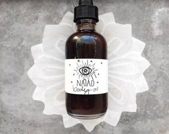 Organic Naiad Body Oil // All Natural // Vegan