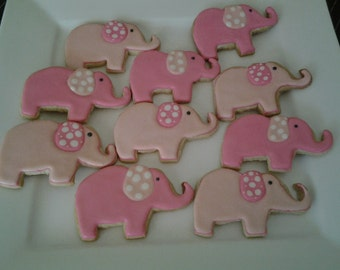 Elephant Cookie Party