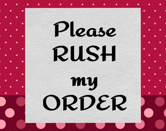 Please Rush my CONFETTI Order!