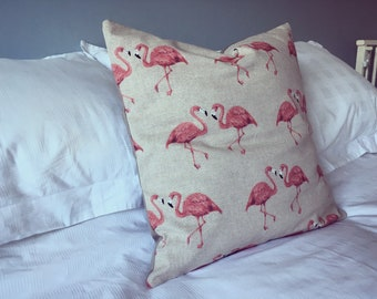Flamingos 2.0 Cushion Cover - With Stone Back