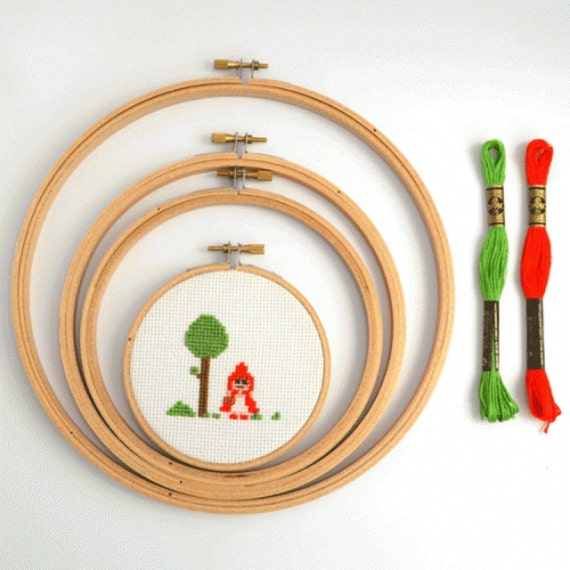 12 Inch Wooden Embroidery Hoop Volume Discount Cross Stitch
