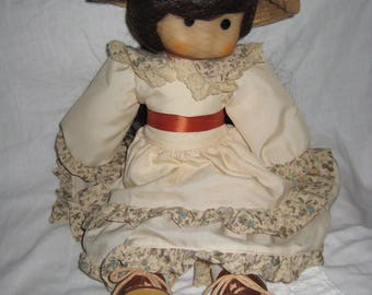 Vintage French Doll-1970s, excellent condition- final sale