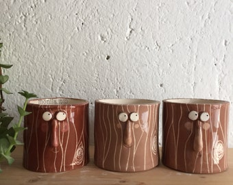 Porta vaso-albero in Ceramica