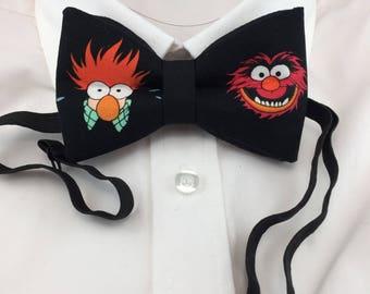 Animal and Beaker Bow Tie