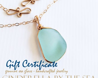 Gift Certificate for a Handmade, Custom Necklace
