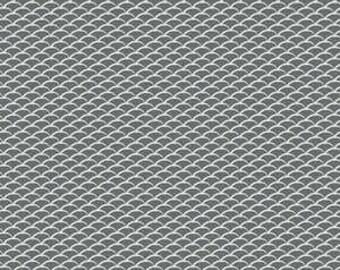 KNIT Art Gallery Fantasia Miniature Hills Steel Knit (Half metre)