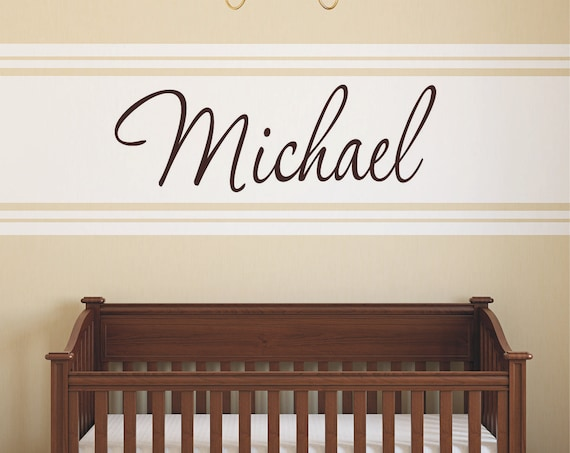 Custom door sign bedroom door decals name wall decal kids