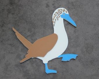 Blue-Footed Booby (Sula nebouxii) Magnet