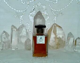 Jeanne Lanvin, Arpège, 60 ml. or 2 oz. Flacon, Pure Parfum Extrait, 1927, Paris, France ..