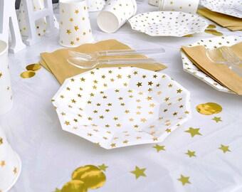 sc 1 st  Etsy & Gold star plates | Etsy