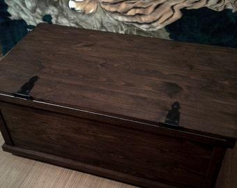 Large Wooden Trunk,wooden Trunk,wooden Chest,steamer Trunk,wooden Storage  Trunk