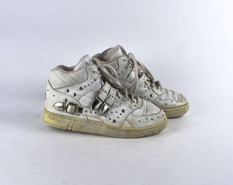 1980's Michael Jackson LA Gear Studded Sneakers, Size 8, LA Gear MJ Trainers
