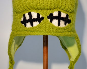 Raphael (Teenage Mutant Ninja Turtles) - Hand-Made Woolen Knit Hat for Children